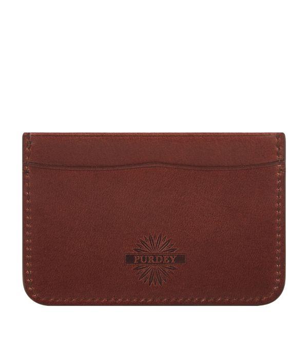Purdey Leather Card Holder