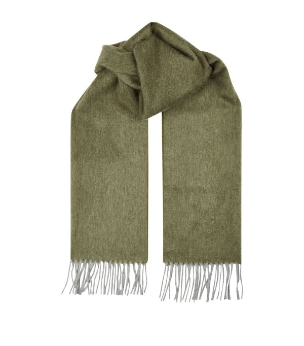 Purdey Wool Tasselled Scarf