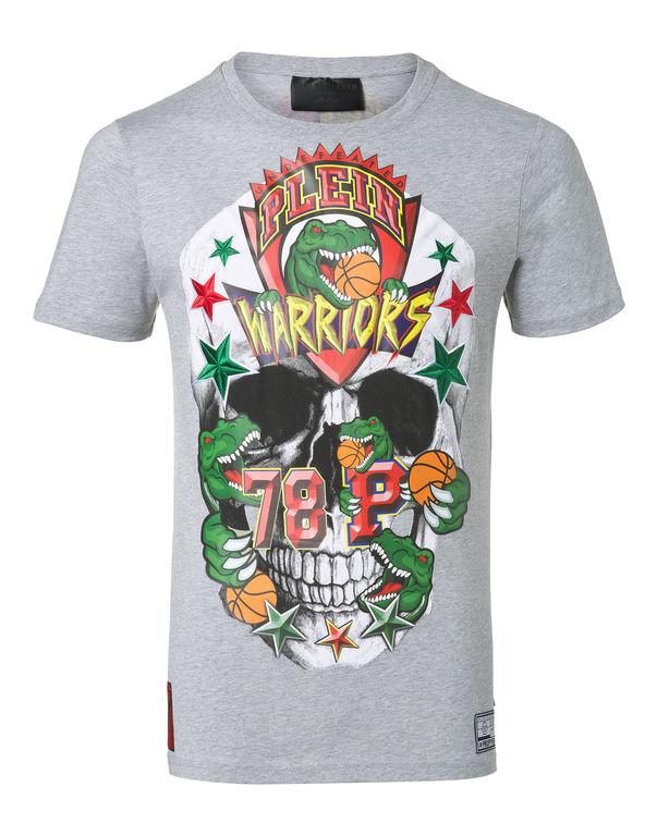 961c3b4d0a Philipp Plein T-Shirt Round Neck Ss