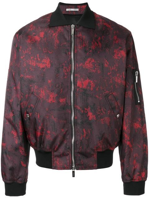 65a2e8bd27 Dior Homme - Abstract Print Bomber Jacket