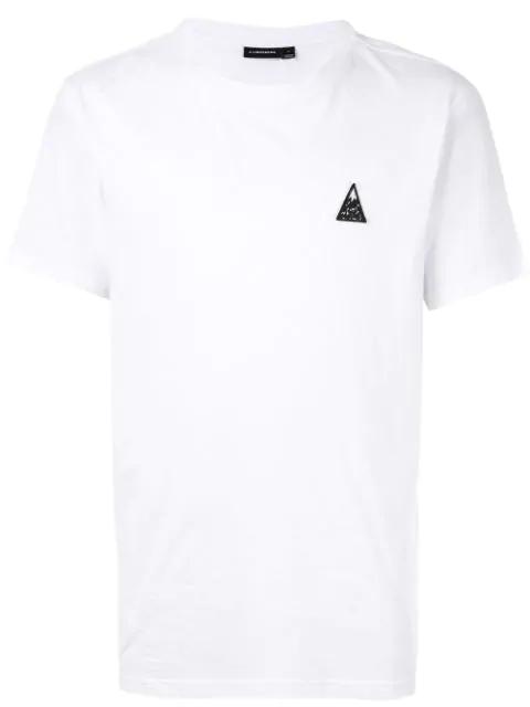 J.lindeberg Bridge Embroidered Logo T-shirt In White