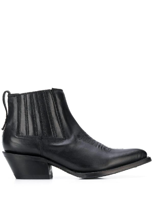 Ash Pepper Boots In Black