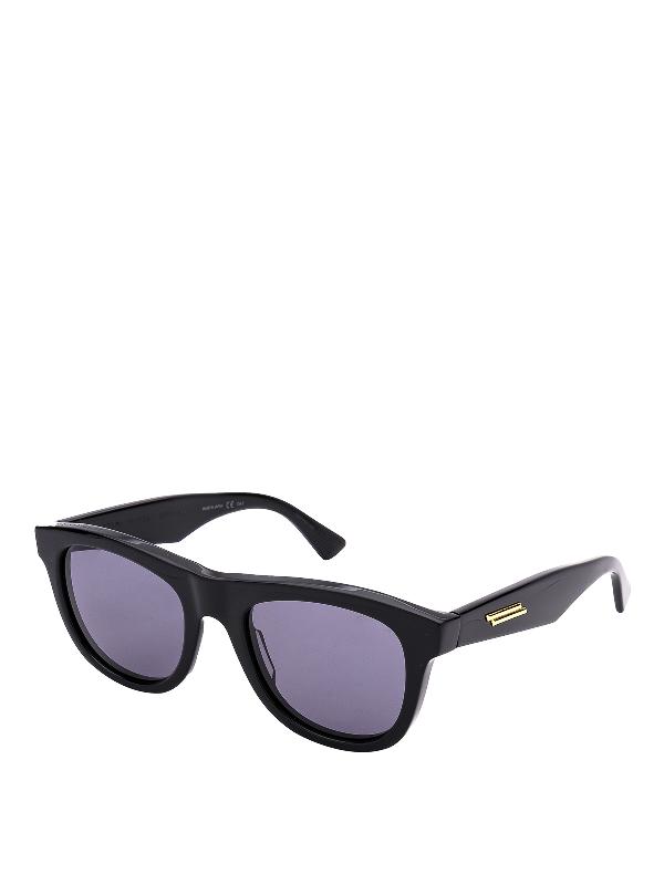 Bottega Veneta Women's Round Sunglasses, 52Mm In Black