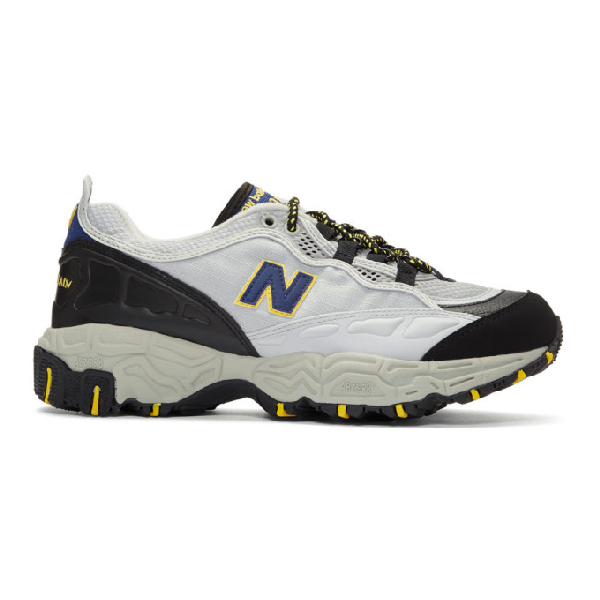 New Balance Grey 801 Sneakers In White