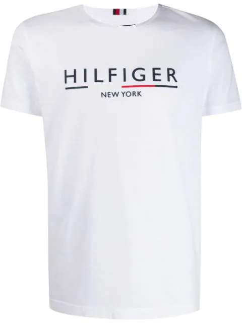 Tommy Hilfiger Branded T-shirt In White