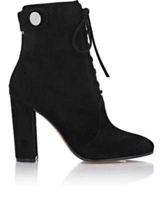 Gianvito Rossi Finlay Mid Boots - Black