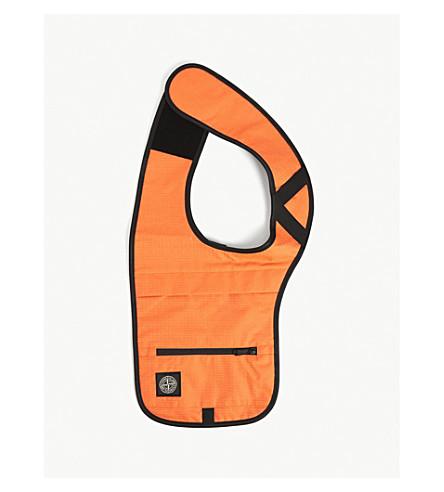 Stone Island Nylon Harness Bag In Orange