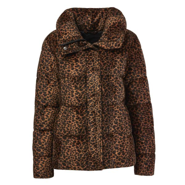Unreal Fur Huff And Puff Faux Fur Puffer Coat - 100% Exclusive In Leopard