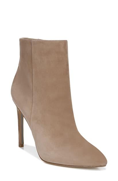Sam Edelman Women's Wren High-heel Booties In Praline Suede