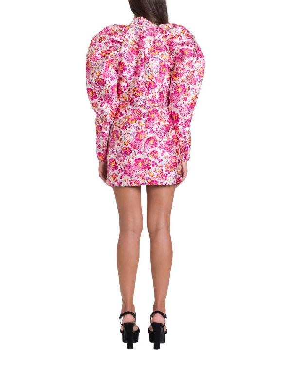 Rotate Birger Christensen Number 1 Dress In Rosa