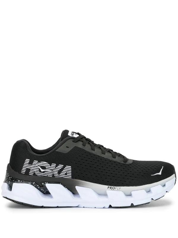 Hoka One One 27mm Elevon Running Sneakers In Black
