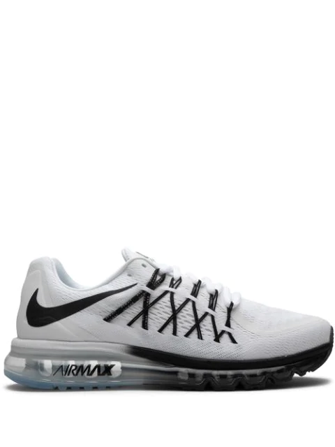 Nike Men's Air Max 2015 Running Sneakers From Finish Line In White