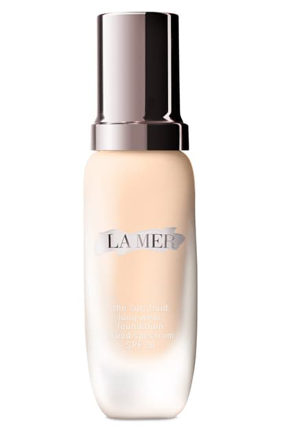 La Mer The Soft Fluid Long Wear Foundation Spf 20 In 04 Warm Ivory - Light/ Neutral
