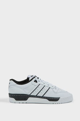 Adidas Originals Rivalry Low Leather Trainers In White