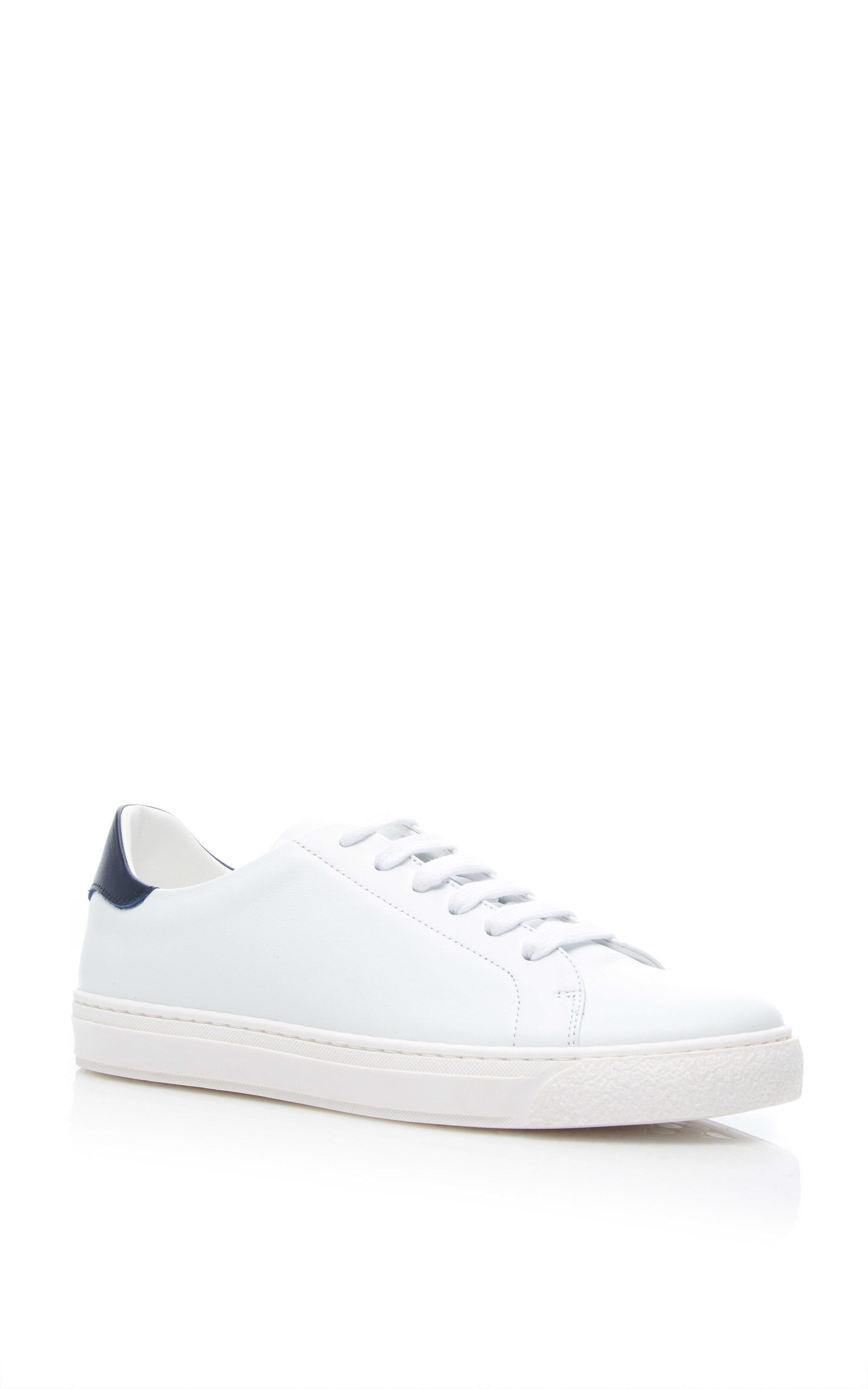 c1ff221ee477b0 Anya Hindmarch  Eyes  Embossed Leather Sneakers In White