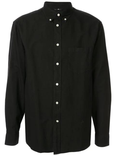 J.lindeberg Classic Shirt In Black