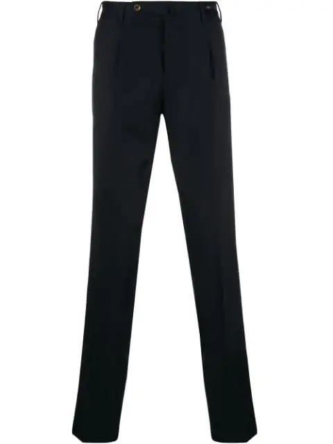 Pt01 Straight-leg Trousers In Blue