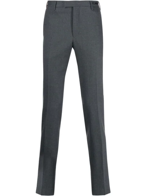 Pt01 Straight-leg Trousers In Grey