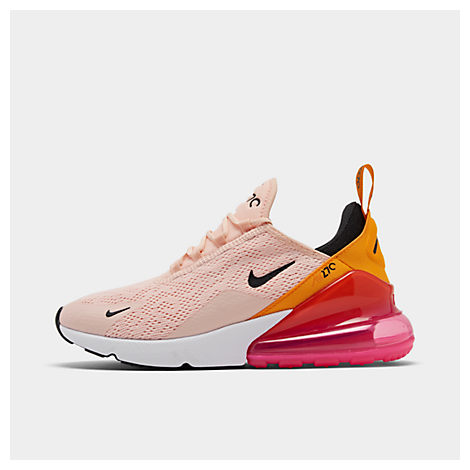 Nike Women's Air Max 270 Low-Top Sneakers In Pink