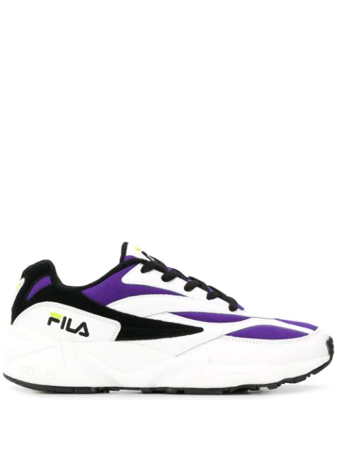 Fila Venom Low Top Sneakers In Purple