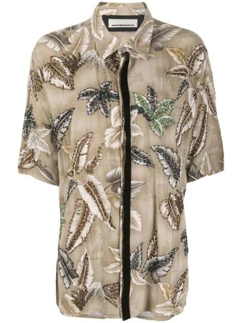 Night Market Hawaii Short-sleeve Shirt In Neutrals