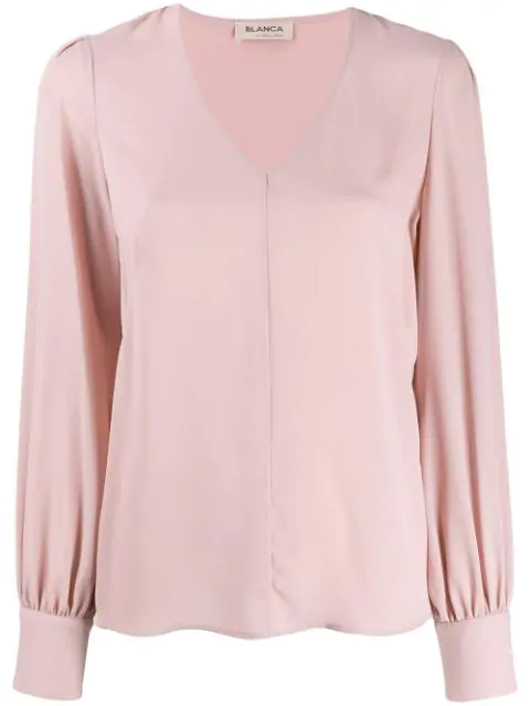 Blanca Loose-fit Blouse In Pink