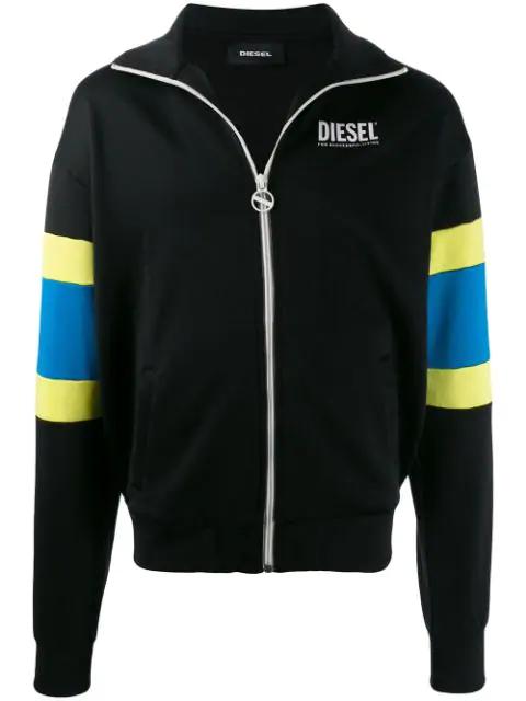 Diesel S-Akon Sweatshirt In 900  Black