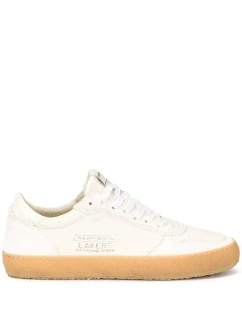 Philippe Model Lakers Sneakers In White
