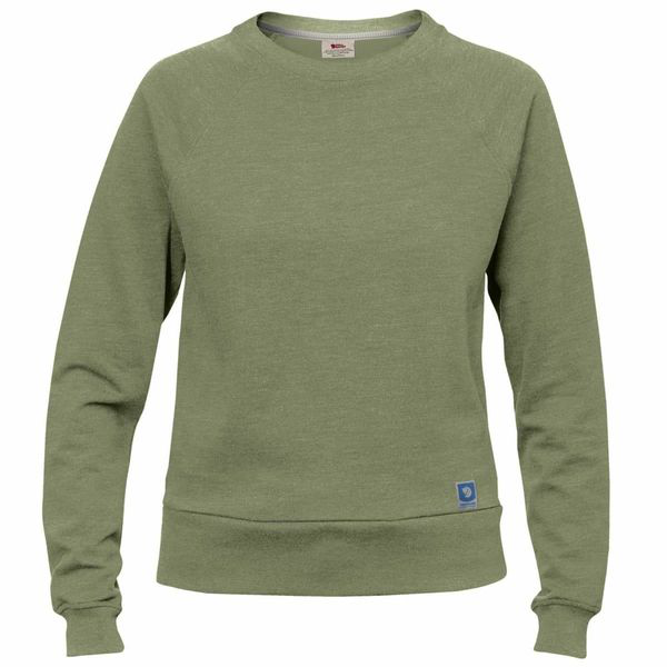 Fjall Raven Fjallraven Womens Greenland Sweater Green