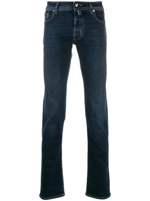 Jacob Cohen Jeans Mit Geradem Bein In Blue