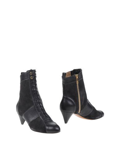 Sonia Rykiel Ankle Boots In Black