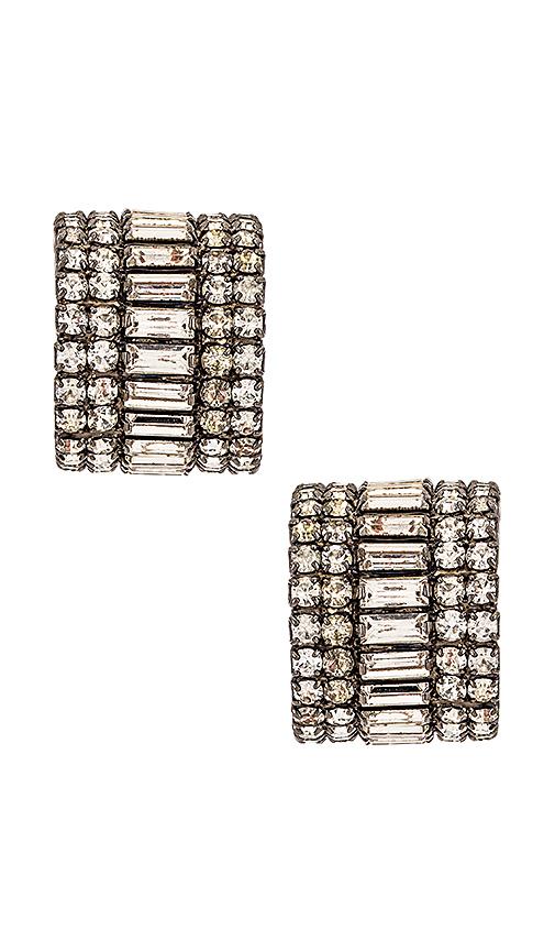 Elizabeth Cole Karen Earrings In Silver