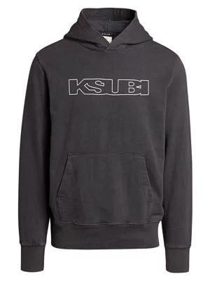 Ksubi Black Sign Of The Times Hoodie