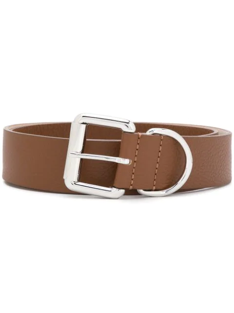 Barbara Bui Cracked Effect Belt In Brown