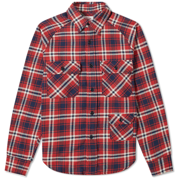 Battenwear Camp Shirt In Red