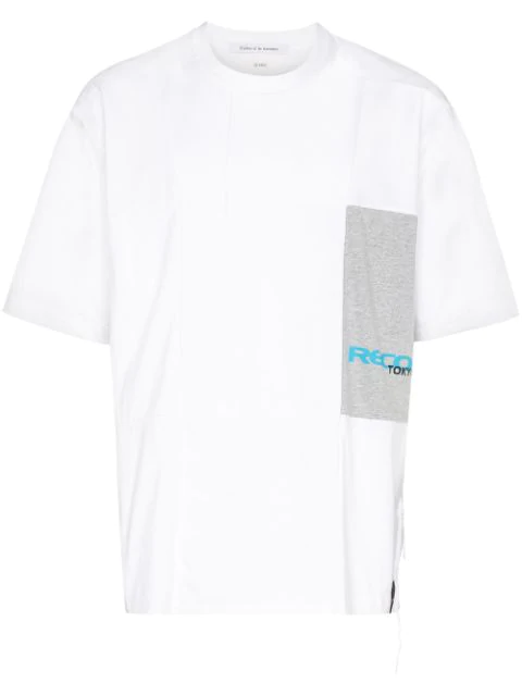Children Of The Discordance Patchwork Panelled T-shirt In White
