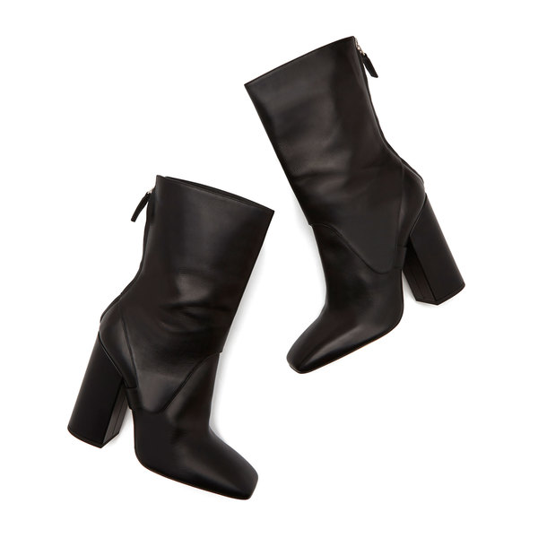 Victoria Beckham Square Boots In Black