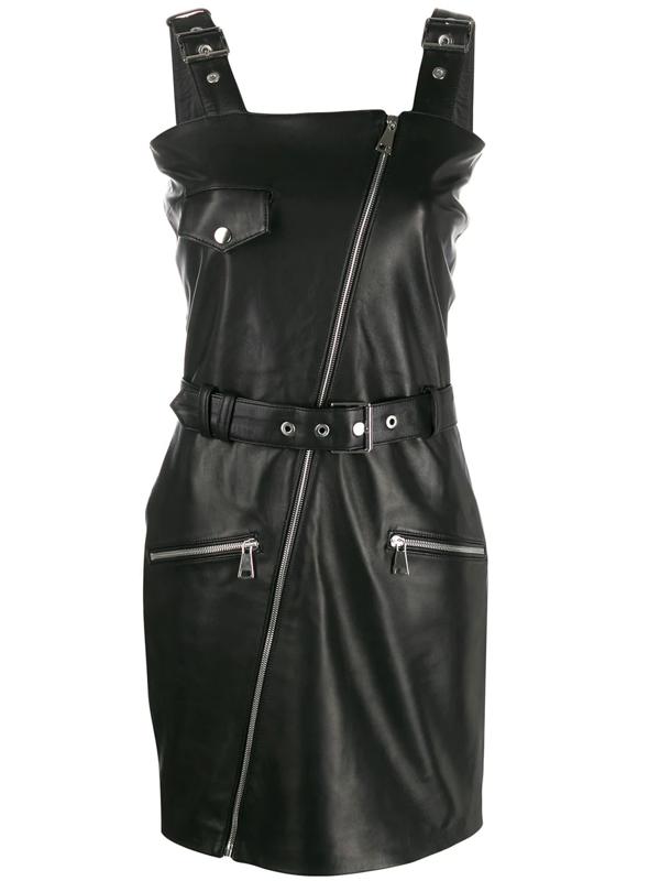 Manokhi Alice Mini Dress In Black