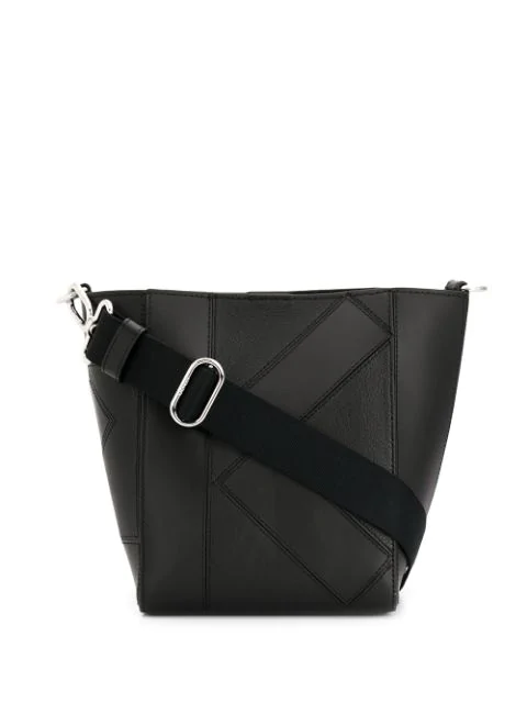 Kenzo Small Kube Tote Bag In 99   Black
