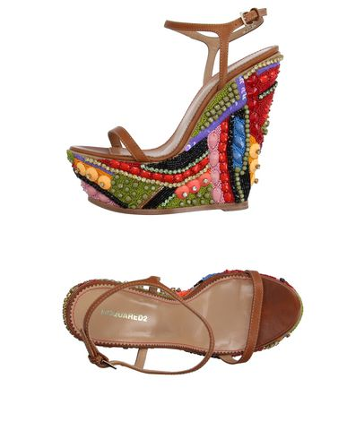 Dsquared2 Sandals In Brown