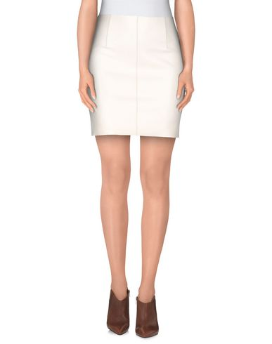 Dsquared2 Mini Skirt In Ivory
