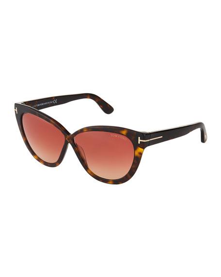d13b1412c2e5 Tom Ford Arabella Cat Eye Sunglasses