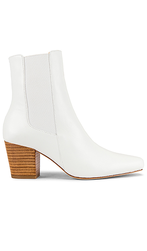 Raye Goldrush Bootie In White