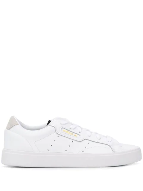 Adidas Originals Adidas Women's Originals Sleek Casual Shoes In White Size 11.0 Leather