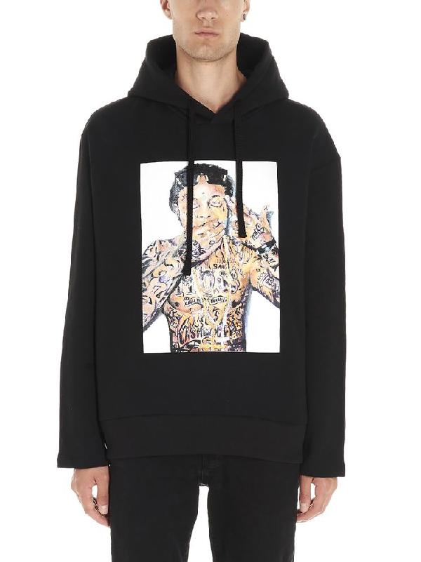 Ih Nom Uh Nit Graphic Print Hoodie In Black