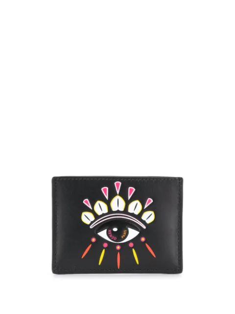 Kenzo 'kontact Eye' Kartenetui In Black