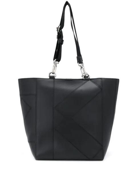 Kenzo Kube Tote Bag In Black