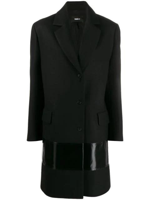 Yang Li Contrast Panel Single In Black