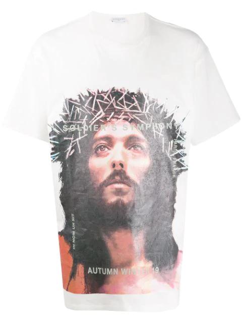 Ih Nom Uh Nit T-shirt Mit Jesus-print In 081 White
