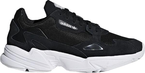 Pre-owned Adidas Originals  Falcon Core Black Cloud White (w) In Core Black/core Black/cloud White